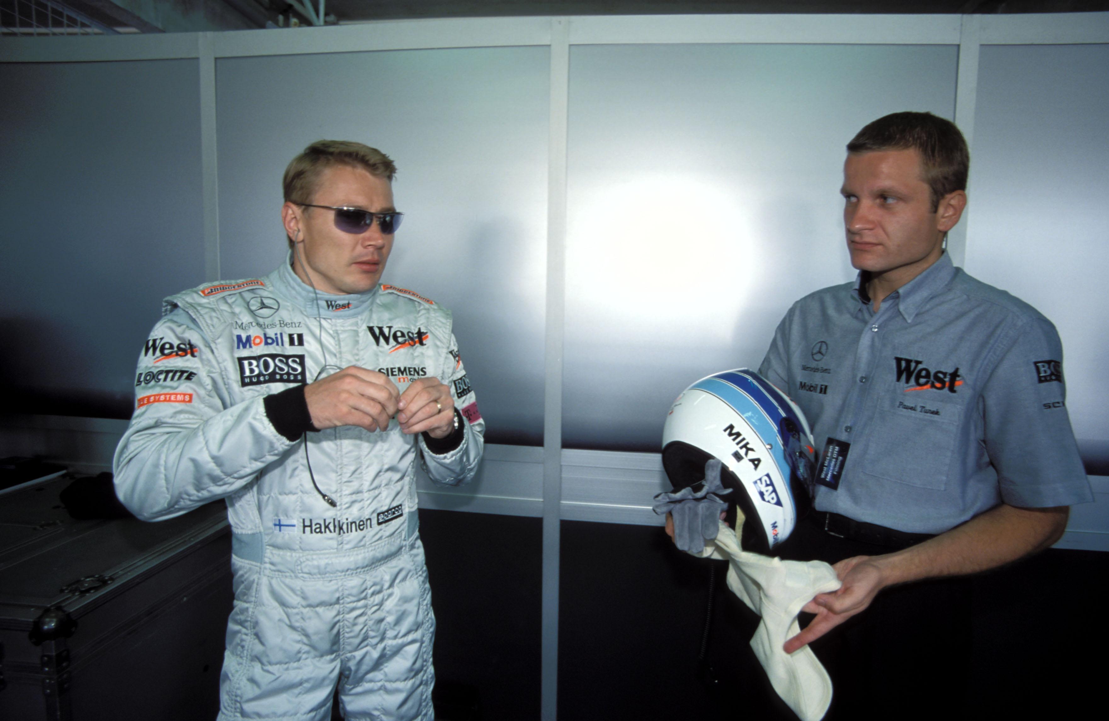 Pavel Turek a Mika Häkkinen z roku 2008